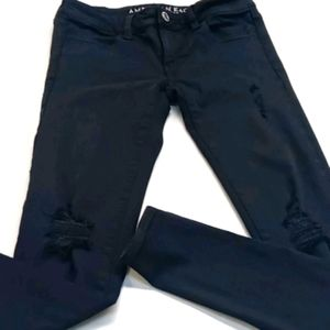 American eagle outfitters jeans black 00